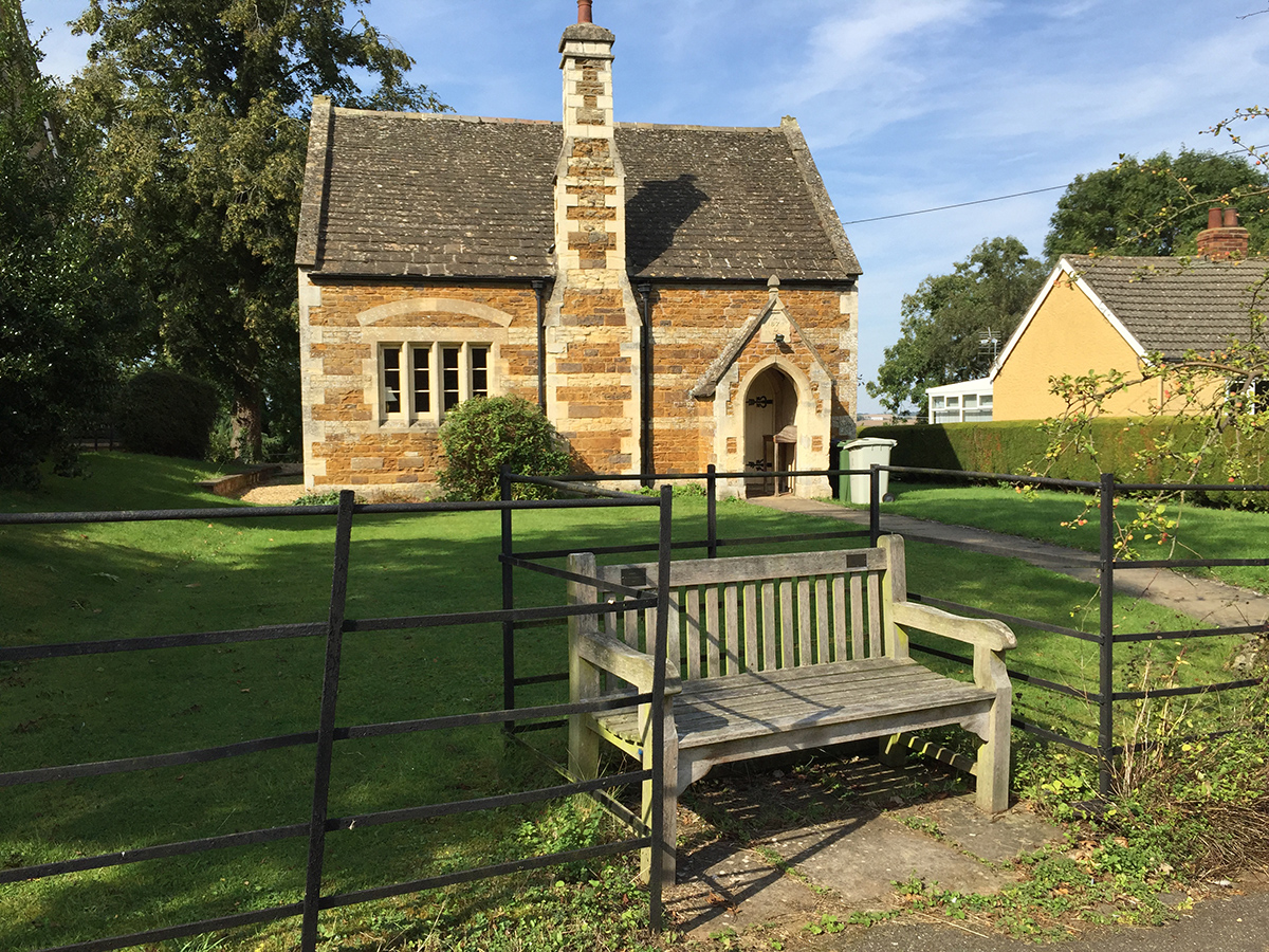 ridlington-village-hall-and-bench