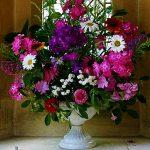 Flowers in teh Church