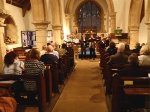 RIDLINGTON SINGERS: 'A Night on the Tiles' @ St. Mary Magdalene & St. Andrew Church