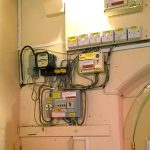 Ridlington Village Hall Old fuse boxes