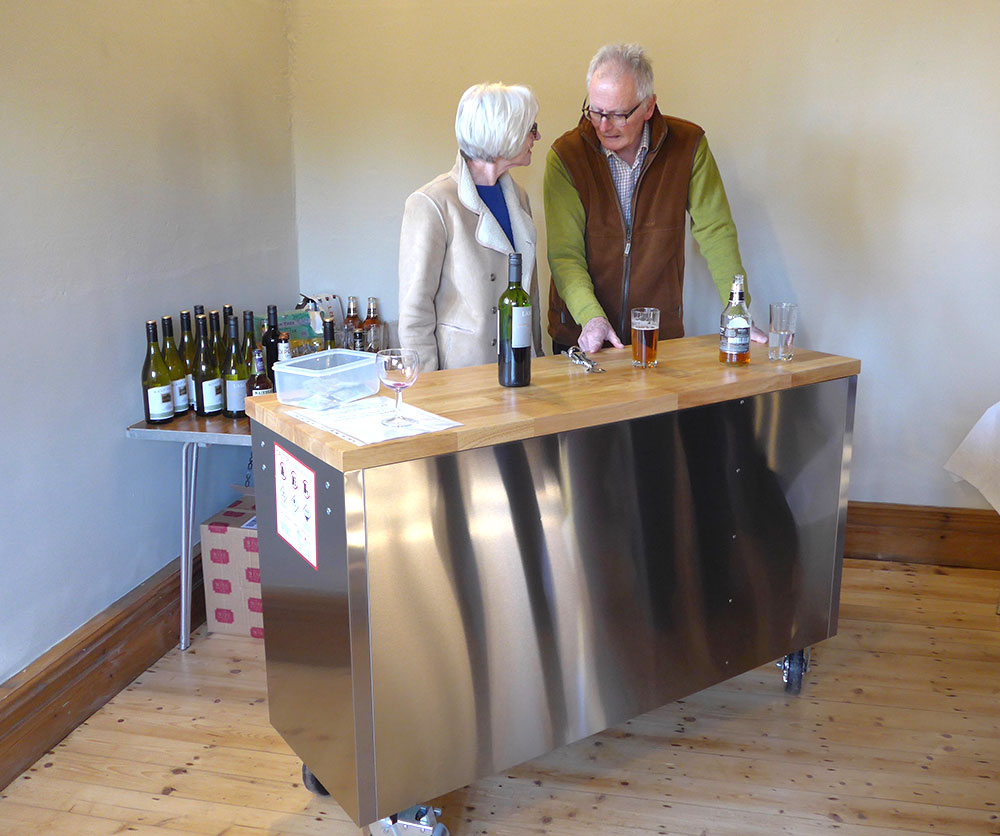 New Bar for the Village Hall