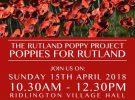 Rutland Poppy Project 2018
