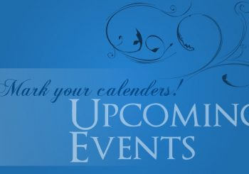 NEW! NEW! NEW! Forthcoming Events
